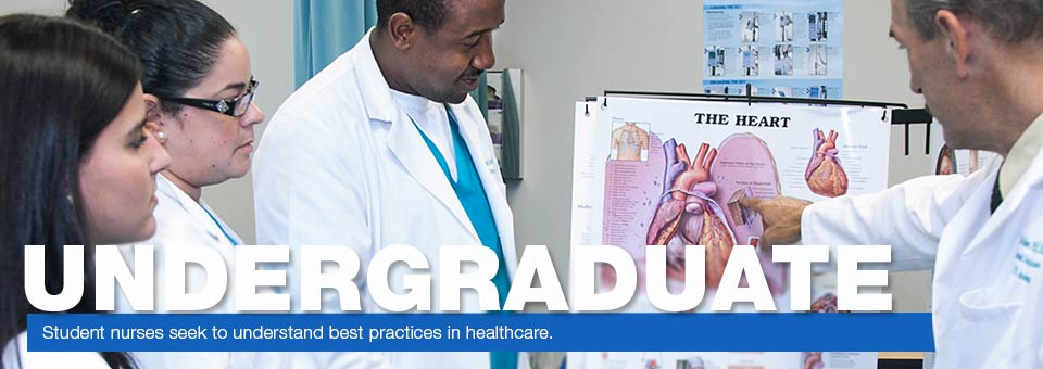 Undergraduate - Student nurses seek to understand best practices in healthcare.