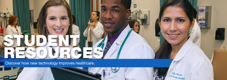 Student Resources - Discover how new technology improves healthcare