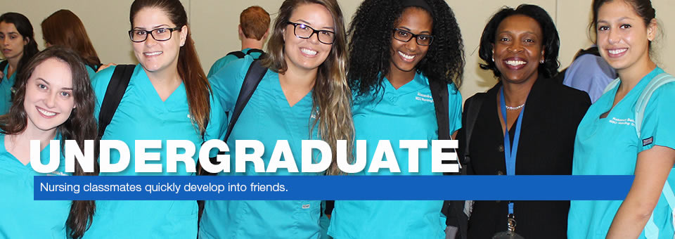 Undergraduate - Nursing classmates quickly develop into friends.